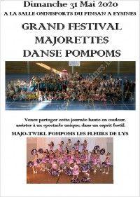 Grand Festival Majorettes Danse Pompoms des Fleurs de Lys 2020