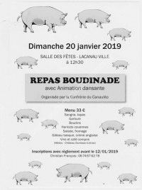 Repas Boudinade