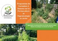Formation 4 saisons permaculture et agro écologie au jardin