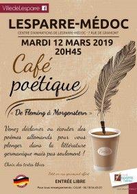 Café Poétique De Fleming à Morgenstern