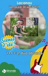 1 plus 1 égal 3 - duo absurde