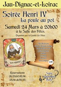 Soirée Henri IV poule au pot