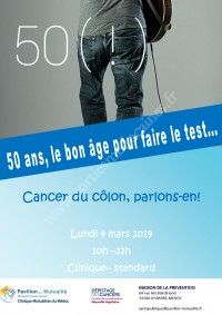 Cancer du colon: parlons en !