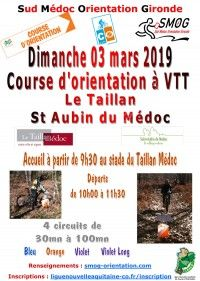Course d'Orientation à VTT 2019