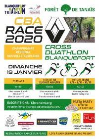 CBA Race 2020 : Cross Duathlon Blanquefort