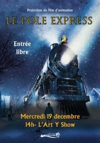 Projection du film Le Pôle Express