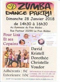 Zumba Dance Party pour Lisa & Une lueur d'espoir pour Ayden