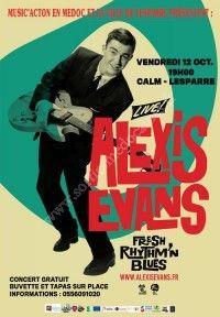 Afterwork : Alexis Evans Trio en concert