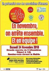 Mois Sans Tabac : Marche de 6 km