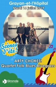 ARTY CHOKES! Quartet Folk Blues Bluegrass