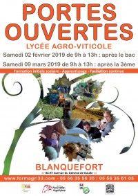 Portes Ouvertes Lycée Agro-Viticole