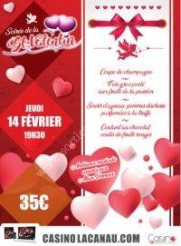 Dîner concert Saint Valentin