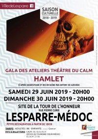 Gala des ateliers théâtre du CALM : Hamlet