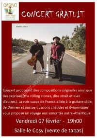 Concert gratuit - Franck & Damien
