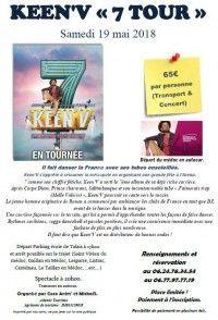 Keen'V 7 Tour à Bordeaux - Départ du Médoc en Bus
