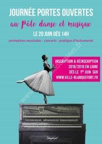 Journée Portes Ouvertes au Pôle Danse et Musique