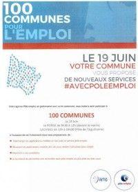 Opération 100 communes pour l'emploi