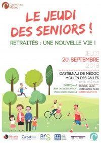 Jeudi des Séniors : retraités, une nouvelle vie