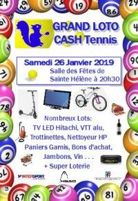 LOTO CASH TENNIS