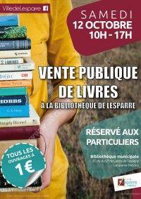 Vente publique de livres