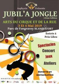 Festival JUBIL'A JONGLE 2019