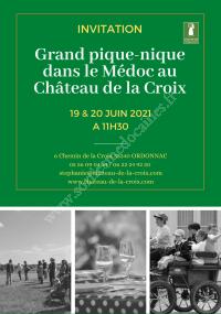 Pique-nique au Château de la Croix
