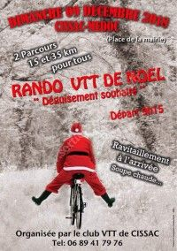 Rando VTT de Noël 2018