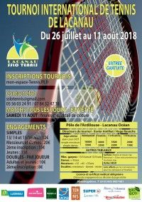 Tournoi International de Tennis de Lacanau 2018