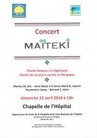 Concert Maiteki