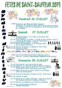 Fêtes de Saint-Sauveur 2019