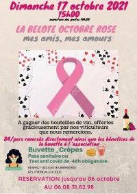 "La Belote ""Octobre Rose"""