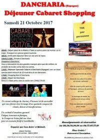 Dejeuner Spectacle Cabaret à Dancharia et shopping