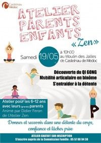 Atelier Parents-Enfants Zen