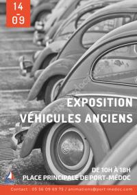 Exposition Véhicules Anciens à Port-Médoc