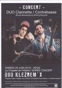 Concert Duo Klezrem'X