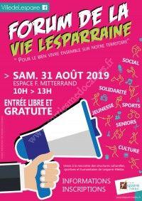 Forum de la Vie Lesparraine 2019