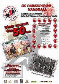 Dîner Concert des 50ans US Parempuyre Handball