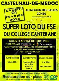 Super Loto du FSE du collège Canterane