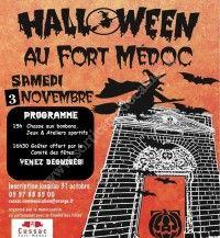 Halloween au Fort Médoc 2018