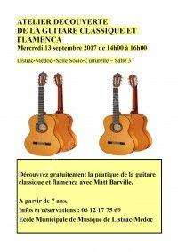 Découverte de la Guitare Classique & Flamenca