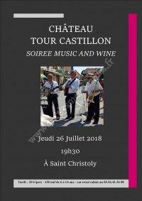 Soirée Music and Wine