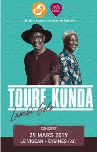 Concert Toure Kunda & Eliasse