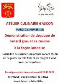 Atelier Culinaire Gascon