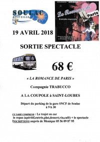 Sortie Spectacle