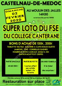 Loto du FSE du collège Canterane
