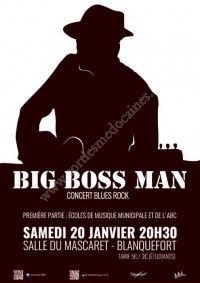 Big Boss Man - Concert Blues Rock