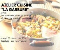 Atelier Cuisine : la Garbure