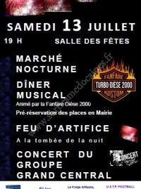 Fête Nationale 2019 & Marché Nocturne