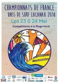 Championnats de France UNSS de Surf