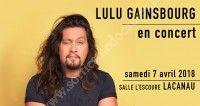 Lulu Gainsbourg en concert